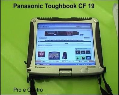 prova Panasonic Toughbook CF-19