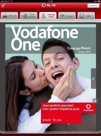 Vodafone My 190: iPad ed il servizio clienti Vodafone