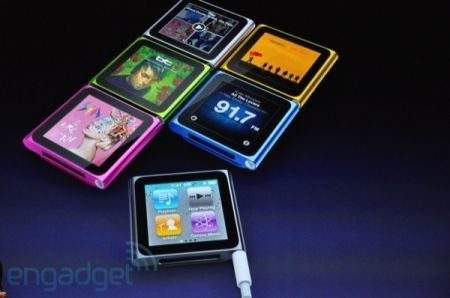 Evento Apple: iPod Nano sesta generazione