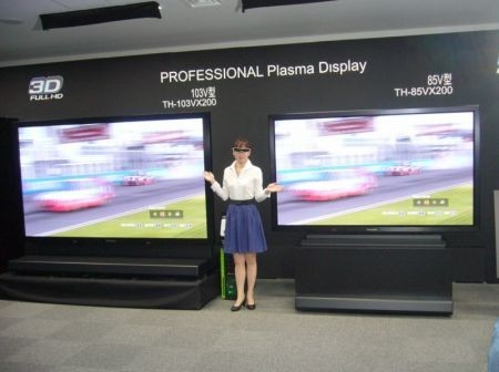 Panasonic televisori 3D IFA 2010