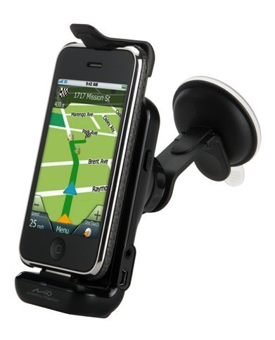 Mio GPS Car Kit compatibile con iPhone 4 all'IFA 2010