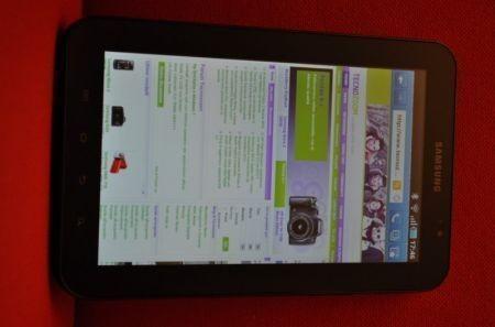 Samsung Galaxy Tab: prime impressioni