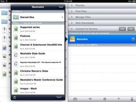 iPad Applicazioni