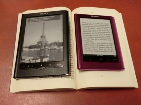 Sony eBook Reader Pocket Edition e Touch Edition in video