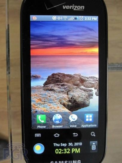Evento Samsung: Continuum in arrivo l'8 Novembre 2010, no Nexus Two