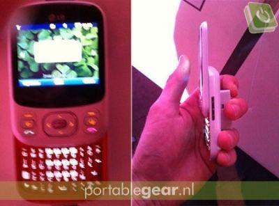 LG C320 InTouch Lady: cellulare economico tutto al femminile