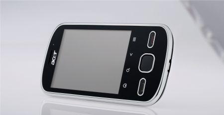 Acer beTouch E140: smartphone compatto con funzioni multimediali per Natale