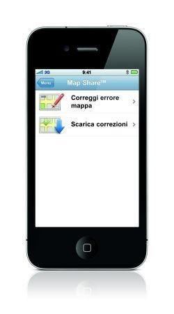 iPhone 4: TomTom Map Share disponibile per l'App TomTom