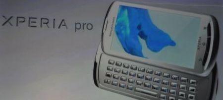 Sony Ericsson Xperia Pro al MWC 2011