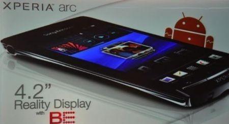 Sony Ericsson Xperia Arc al MWC 2011