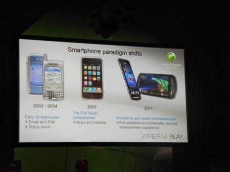 Presentazione Sony Ericsson Xperia Play