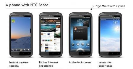 HTC Pyramid Sensation