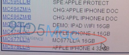 iPhone 4 bianco verizon