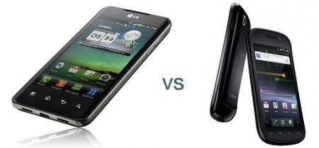 Google Nexus S ed Lg Optimus Dual