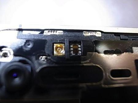 iPhone 4 bianco componenti