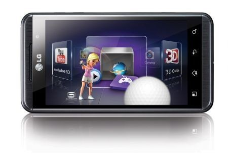 LG Optimus 3D, videopreview