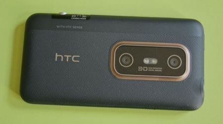 HTC Evo 3D: fotocamere con autofocus e flash led
