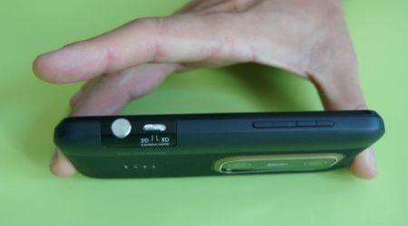 HTC Evo 3D: punlsante 2D 3D