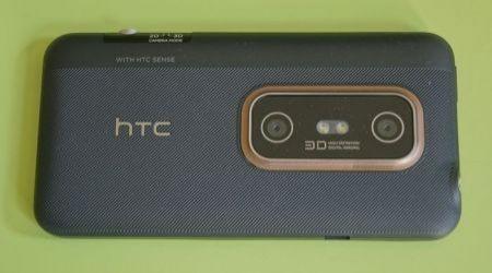HTC Evo 3D: lato posteriore