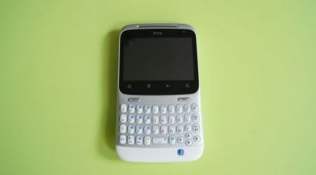 HTC ChaCha: lato frontale