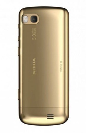 Nokia C3-01 Gold Edition fotocamera