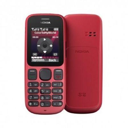 Nokia 100, fronte e retro