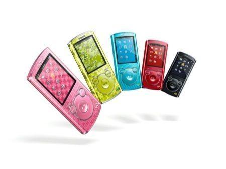 Nuovi Sony Walkman - IFA 2011