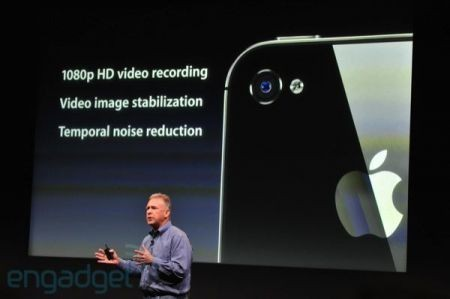 iPhone 4S, video HD a 1080p