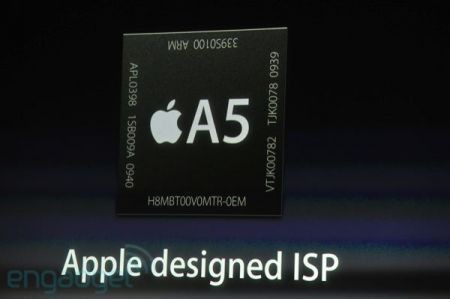 iPhone 4S, il chip Apple A5
