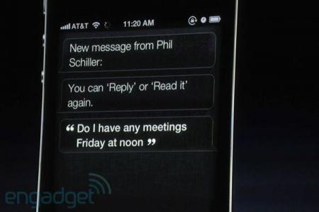 iPhone 4S, Siri spedisce gli SMS per noi