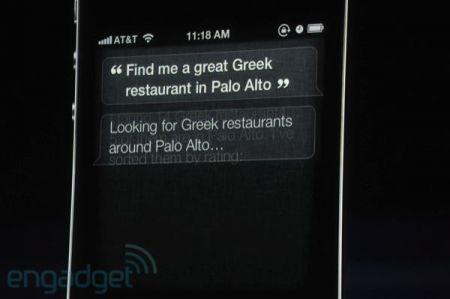 iPhone 4S, comandi in linguaggio umano