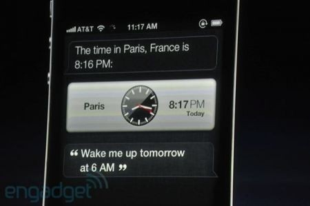 iPhone 4S, Siri imposta la sveglia