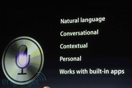 iPhone 4S, riassunto di Siri