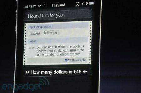 iPhone 4S, ricerhce sul Web