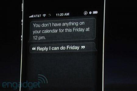 iPhone 4S, azioni logiche concatenate