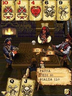 I pirati dei Carabi giocano a poker