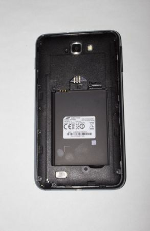 Samsung Galaxy Note senza cover