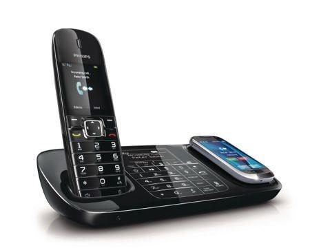 Natale 2011: Philips Think Link Serie 8000, cordless e smartphone su un'unica linea telefonica
