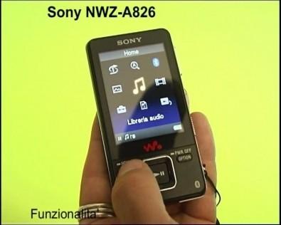 sony_nwza826_funzionalita