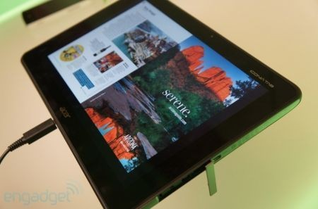 CES 2012: Acer Iconia Tab A700, arriva il tablet con Tegra 3