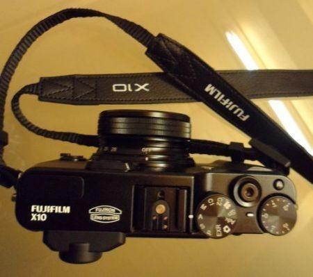 Fujifilm X10, vista dall'alto
