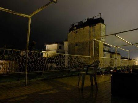 Fujifilm X10, terrazzo notturno
