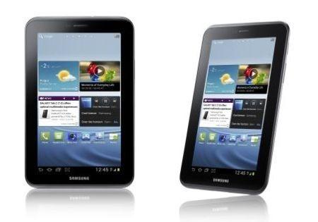 Samsung Galaxy Tab 2, primo tablet da 7 pollici con Android ICS