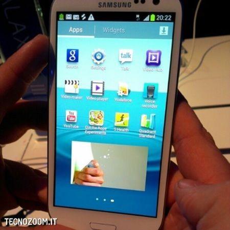 Samsung Galaxy S3, foto LIVE