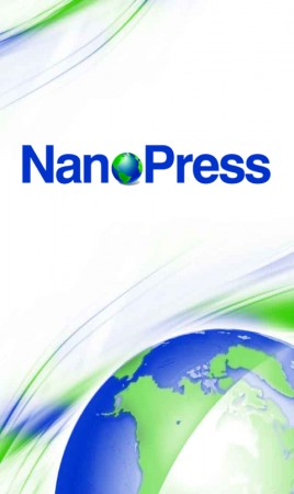 Nanopress per Android, splashscreen