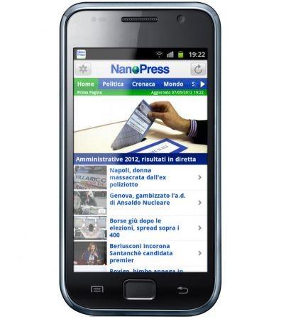 Nanopress per Android
