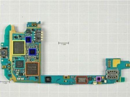 Samsung Galaxy S3, caratteristiche e componenti hardware a pezzi
