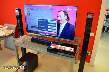 Smart TV 3D LG 47LM670, impostazioni audio