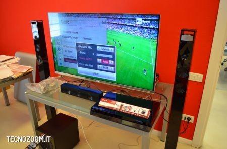 Smart TV 3D LG 47LM670, impostazioni