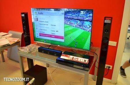 Smart TV 3D LG 47LM670, regolazione delle impostazioni
